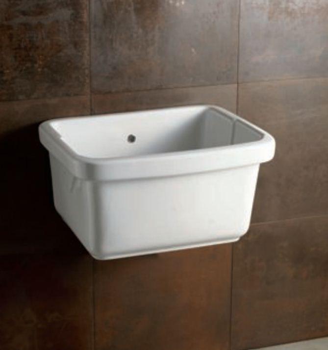 Pilozzo in ceramica sanitari e accessori edilizia for Lavatoio ikea